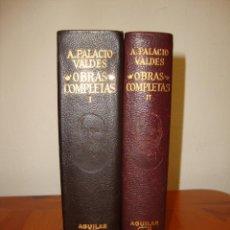 Libros de segunda mano: OBRAS COMPLETAS - ARMANDO PALACIO VALDÉS - AGUILAR, MUY BUEN ESTADO, 1968. Lote 244950310