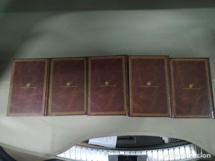 Libros de segunda mano: Julio Verne Edición Especial. Viajes Extraordinarios. 5 Tomos - Foto 3 - 244961335