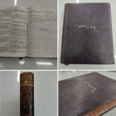 Libros de segunda mano: OSCAR WILDE OBRAS COMPLETAS AGUILAR EDICIONES 1951 PIEL CON CANTOS DECORADOS. Lote 245063570