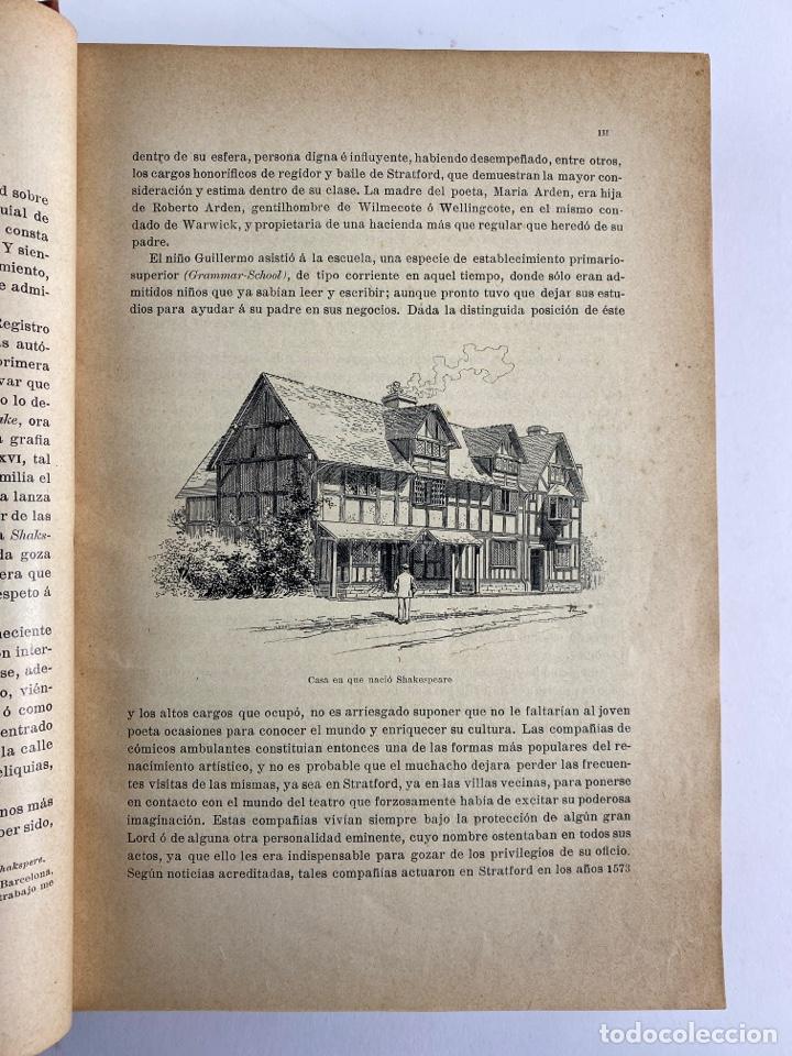 Libros de segunda mano: L-5915.OBRAS COMPLETAS DE SHAKESPEARE, TRADUCIDAS Y ANOTADAS POR CIPRIANO MONTOLIU.TOMO I,TRAGEDIAS. - Foto 7 - 245232530