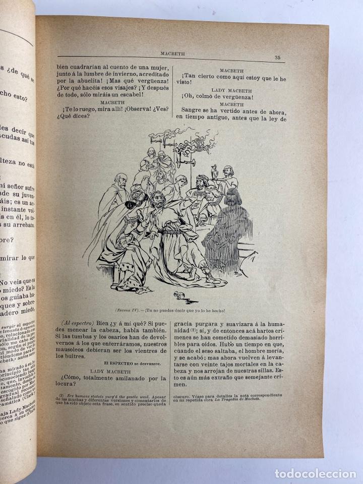 Libros de segunda mano: L-5915.OBRAS COMPLETAS DE SHAKESPEARE, TRADUCIDAS Y ANOTADAS POR CIPRIANO MONTOLIU.TOMO I,TRAGEDIAS. - Foto 8 - 245232530
