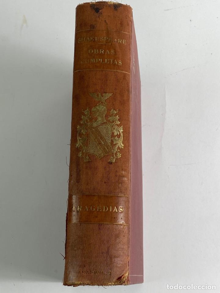 L-5915.OBRAS COMPLETAS DE SHAKESPEARE, TRADUCIDAS Y ANOTADAS POR CIPRIANO MONTOLIU.TOMO I,TRAGEDIAS. (Libros de Segunda Mano (posteriores a 1936) - Literatura - Narrativa - Clásicos)