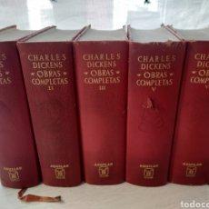 Libros de segunda mano: CHARLES DICKENS. OBRAS COMPLETAS. AGUILAR 1967/1968. Lote 245421040