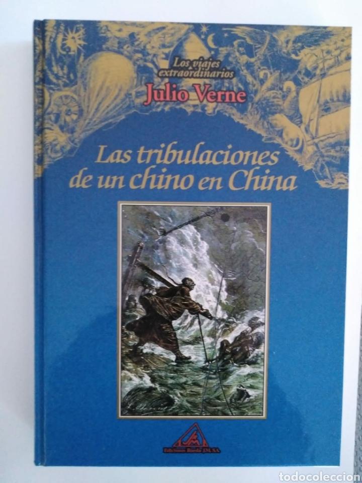LAS TRIBULACIONES DE UN CHINO EN LA CHINA / JULIO VERNE. LOS VIAJES EXTRAORDINARIOS. EDITORIAL RUEDA (Libros de Segunda Mano (posteriores a 1936) - Literatura - Narrativa - Clásicos)
