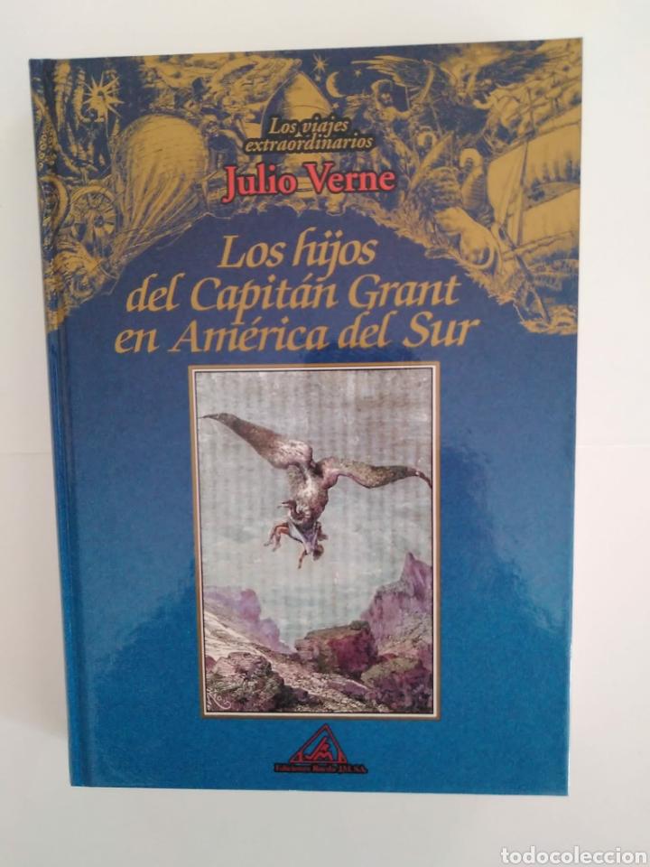 LOS HIJOS DEL CAPITÁN GRANT EN AMÉRICA DEL SUR / JULIO VERNE. VIAJES EXTRAORDINARIOS.EDITORIAL RUEDA (Libros de Segunda Mano (posteriores a 1936) - Literatura - Narrativa - Clásicos)