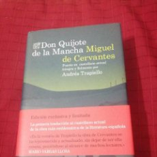 Libros de segunda mano: DON QUIJOTE DE LA MANCHA , MIGUEL DE CERVANTES, ANDRÉS TRAPIELLO, ED. LIMITADA. Lote 245505725
