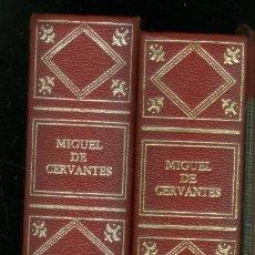 Libros de segunda mano: + DON QUIJOTE DE LA MANCHA. 2 TOMOS CIRCULO DE AMIGOS DE LA HISTORIA 1973. Lote 246023120