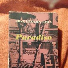Libros de segunda mano: PARADISO, DE JOSE LEZAMA LIMA. 1A EDICIÓN, 1966. DEDICATORIA AUTÓGRAFA DEL AUTOR A ANGEL AUGIER. Lote 246132470