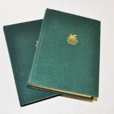 Libros de segunda mano: MIGUEL DE CERVANTES .DON QUIJOTE DE LA MANCHA .EDICION SOVIETICA 1970 A .URSS. DOS TOMOS. Lote 246997385