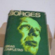 Libros de segunda mano: BORGES, JORGE LUIS. OBRAS COMPLETAS 1923-1972. EMECE EDITORES, 1974. CON FIRMA MANUSCRITA.. Lote 247954855