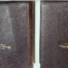 Libros de segunda mano: MARK TWAIN NOVELAS COMPLETAS TOMOS I Y II. Lote 248603295
