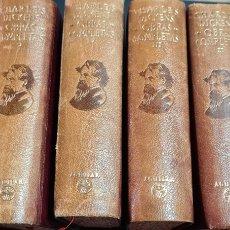 Libros de segunda mano: COLECCIÓN CHARLES DICKENS OBRAS COMPLETAS 6 TOMOS. Lote 248671435