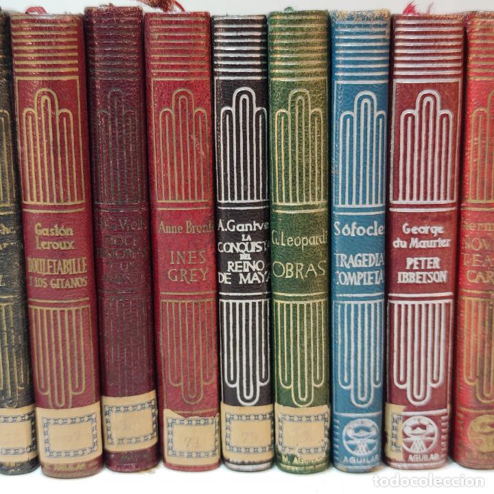 Libros de segunda mano: Tremendo lote de 29 crisoles. Aguilar. Diferentes años, primeras ediciones. Madrid. - Foto 5 - 249546095