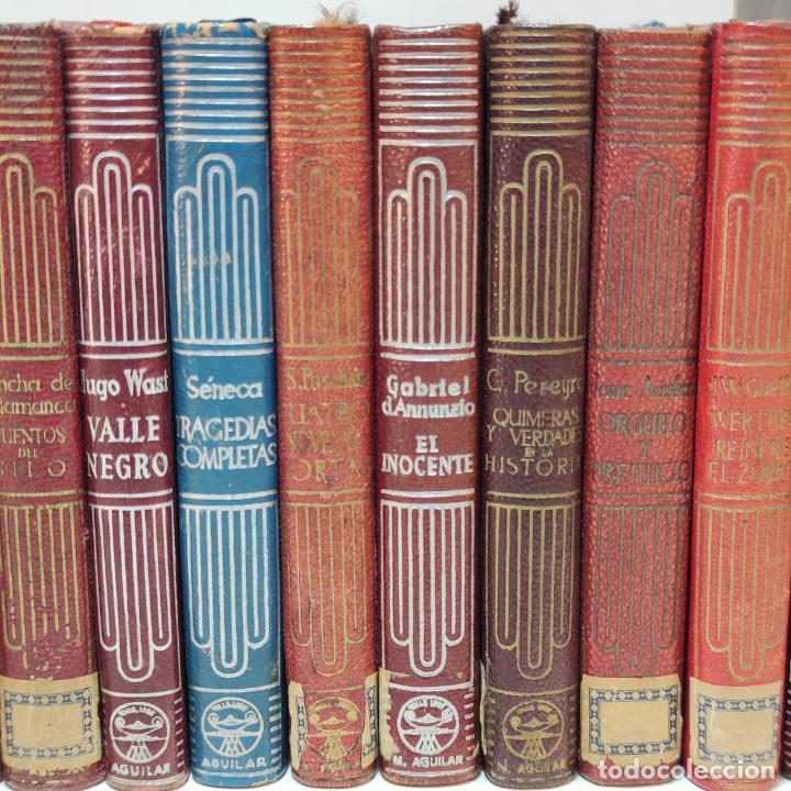Libros de segunda mano: Gran lote de 13 crisoles. Aguilar. Diferentes años, primeras ediciones. Madrid. - Foto 3 - 249552095
