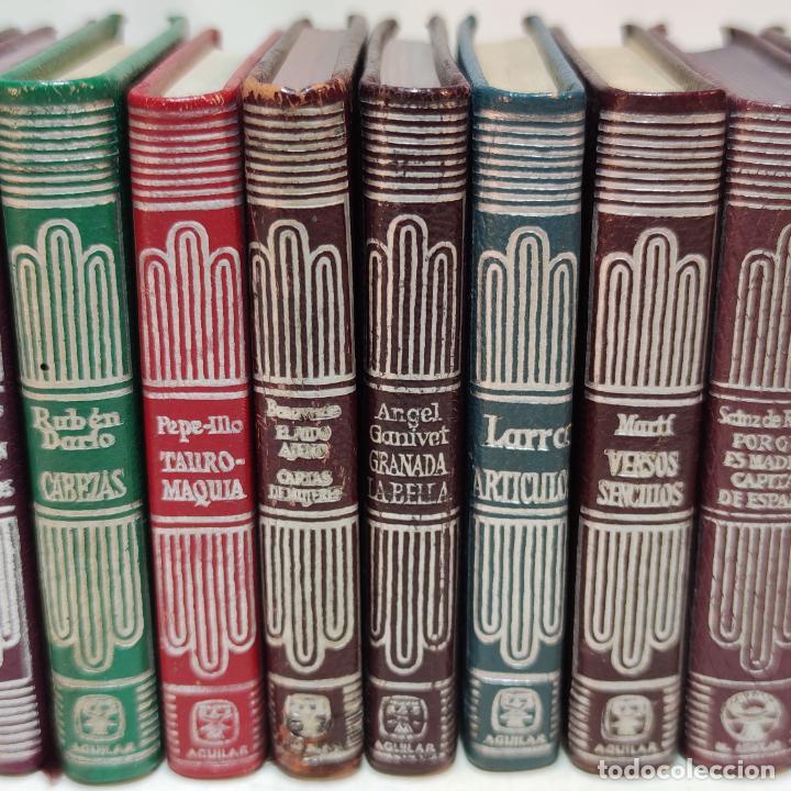 Libros de segunda mano: Lote de 16 Crisolines. Diferentes años y ediciones. Valle Inclán, Casona, Larra, Benavente. Aguilar. - Foto 3 - 251501980