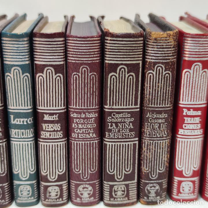 Libros de segunda mano: Lote de 16 Crisolines. Diferentes años y ediciones. Valle Inclán, Casona, Larra, Benavente. Aguilar. - Foto 4 - 251501980