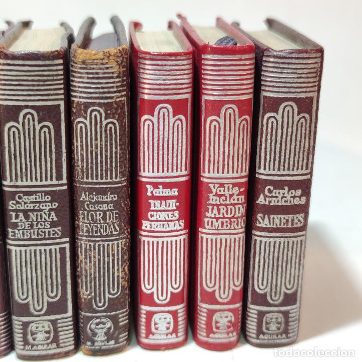 Libros de segunda mano: Lote de 16 Crisolines. Diferentes años y ediciones. Valle Inclán, Casona, Larra, Benavente. Aguilar. - Foto 5 - 251501980
