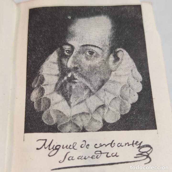 Libros de segunda mano: Agustín Herrera García. El alma de Cervantes. Crisolín nº 00. 1ª edición. Aguilar. 1947. - Foto 3 - 251590930