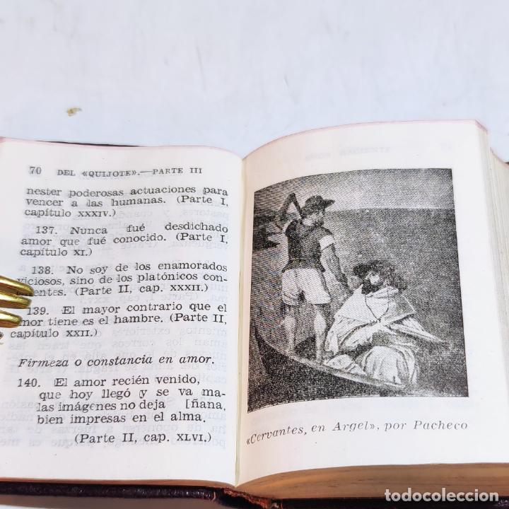 Libros de segunda mano: Agustín Herrera García. El alma de Cervantes. Crisolín nº 00. 1ª edición. Aguilar. 1947. - Foto 6 - 251590930