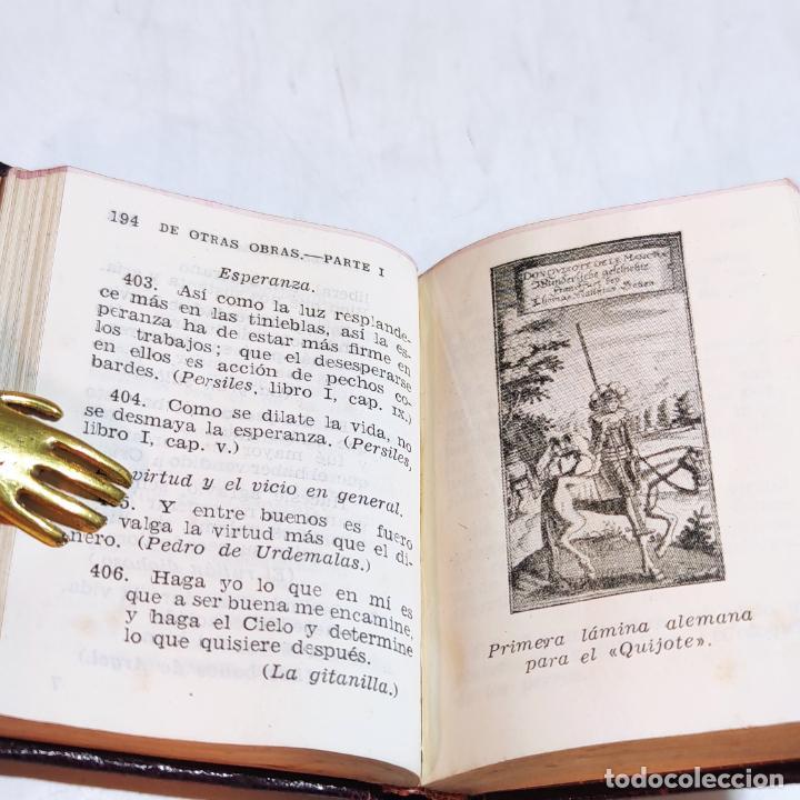 Libros de segunda mano: Agustín Herrera García. El alma de Cervantes. Crisolín nº 00. 1ª edición. Aguilar. 1947. - Foto 7 - 251590930