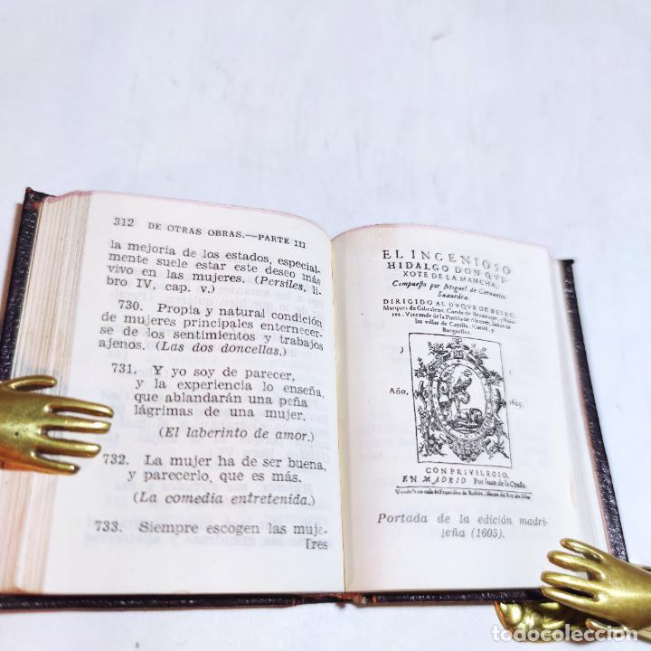 Libros de segunda mano: Agustín Herrera García. El alma de Cervantes. Crisolín nº 00. 1ª edición. Aguilar. 1947. - Foto 8 - 251590930