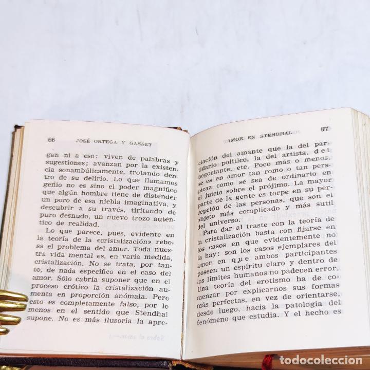 Libros de segunda mano: José Ortega y Gasset. Estudio sobre el amor. Crisolín nº 03. 1ª edición. Aguilar. 1950. - Foto 5 - 251591395