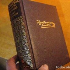 Livres d'occasion: DON QUIJOTE DE LA MANCHA + LAS DOCE NOVELAS EJEMPLARES - OBRAS COMPLETAS CERVANTES - AGUILAR NUEVO. Lote 251975260