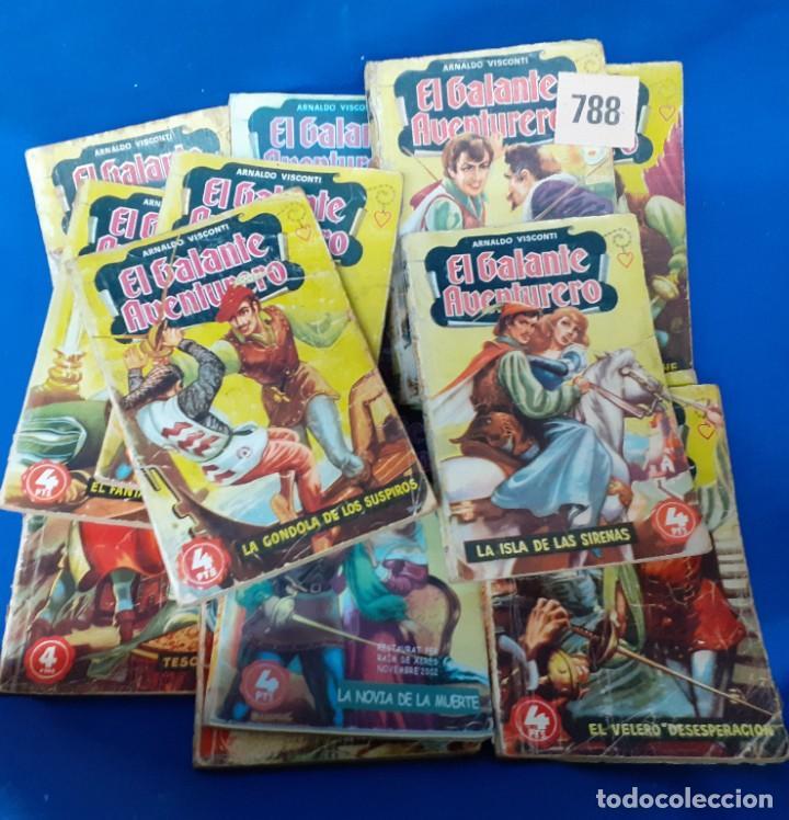 Libros de segunda mano: LOTE 788 NOVELAS BOLSILLO EL GALANTE AVENTURERO - Foto 2 - 252205265