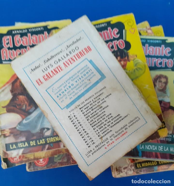 Libros de segunda mano: LOTE 788 NOVELAS BOLSILLO EL GALANTE AVENTURERO - Foto 3 - 252205265