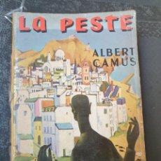Libros de segunda mano: LA PESTE - ALBERT CAMUS. Lote 252310260