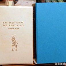 Libros de segunda mano: LAS AVENTURAS DE PINOCHO - HISTORIA DE UN TITERE - CARLO COLLODI - BERLUSCONI - BIBLIOTECA UTOPIA. Lote 252456580