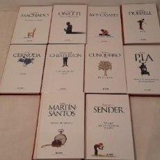 Libros de segunda mano: CLASICOS DEL SIGLO XX EL PAIS - 10 NUMEROS. Lote 252555820