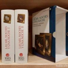 Libros de segunda mano: LIBRO LAS MIL Y UNA NOCHES (EDICION DE LUJO) - EDITORIAL AUREA CATEDRA. MAS DE 3.000 PAGINAS. Lote 253010370