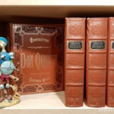 Libros de segunda mano: LIBRO DON QUIJOTE DE LA MANCHA (EDICION DE LUJO) DE MIGUEL DE CERVANTES. Lote 253012800