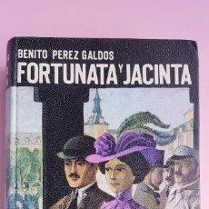 Libros de segunda mano: LIBRO-FORTUNATA Y JACINTA-BENITO PÉREZ GALDÓS-DOS HISTORIAS DE CASADAS-1968-EDITORIAL HERNANDO S.A.. Lote 253032170