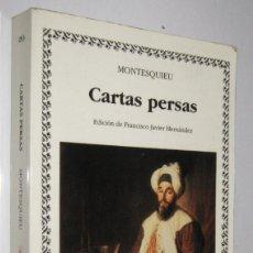 Libros de segunda mano: CARTAS PERSAS - MONTESQUIEU. Lote 253512380