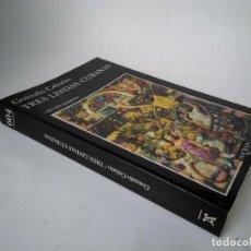 Libros de segunda mano: GONZALO CELORIO. TRES LINDAS CUBANAS. Lote 254213400