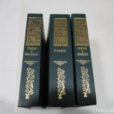 Libros de segunda mano: RUBEN DARIO OBRAS COMPLETAS(3 TOMOS) W6486. Lote 254305315