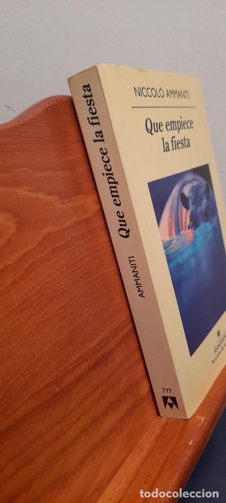 Libros de segunda mano: Que empiece la fiesta - Foto 2 - 254453540