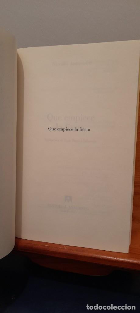 Libros de segunda mano: Que empiece la fiesta - Foto 6 - 254453540