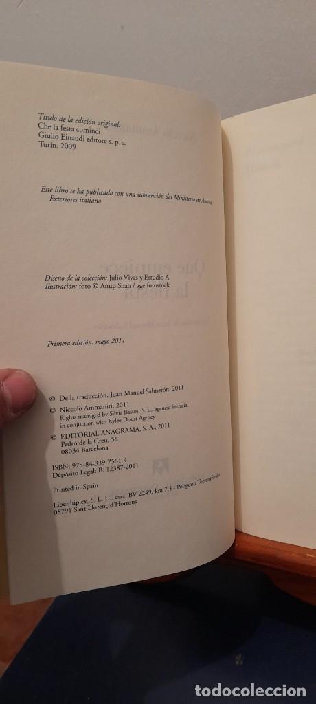 Libros de segunda mano: Que empiece la fiesta - Foto 8 - 254453540