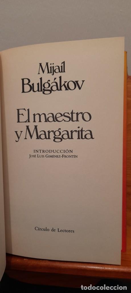 Libros de segunda mano: El maestro y Margarita - Foto 7 - 254457310