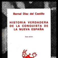 Libros de segunda mano: COLECCION AUSTRAL. Nº 1274. B. DIAZ DEL CASTILLO. HISTORIA VERDADERA CONQUISTA DE LA NUEVA ESPAÑA.. Lote 254649175