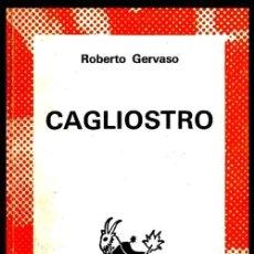 Libros de segunda mano: COLECCION AUSTRAL. Nº 1625. ROBERTO GERVASO. CAGLIOSTRO.. Lote 254649305