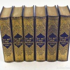 Libros de segunda mano: LAS MIL Y UNA NOCHES, 1976, AMIGOS DEL CÍRCULO DEL BIBLIÓFILO, 6 TOMOS, BARCELONA. 21X15CM. Lote 254725870