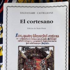 Libros de segunda mano: BALDASSARE CASTIGLIONE . EL CORTESANO . CÁTEDRA. Lote 254830235