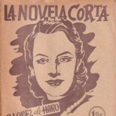 Libros de segunda mano: LA NOVELA CORTA 4 - YO MATÉ A JUAN LEÓN - R. LOPEZ DE HARO. Lote 254884875