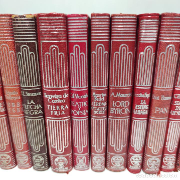 Libros de segunda mano: Gran lote de 21 crisoles de Aguilar. Pio Baroja, Irving, Kipling, Stevenson, Concha Espina, etc. - Foto 3 - 254921380