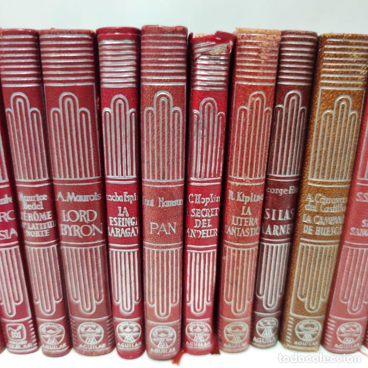 Libros de segunda mano: Gran lote de 21 crisoles de Aguilar. Pio Baroja, Irving, Kipling, Stevenson, Concha Espina, etc. - Foto 4 - 254921380