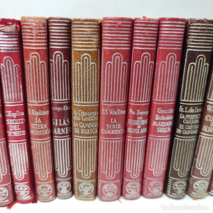 Libros de segunda mano: Gran lote de 21 crisoles de Aguilar. Pio Baroja, Irving, Kipling, Stevenson, Concha Espina, etc. - Foto 5 - 254921380